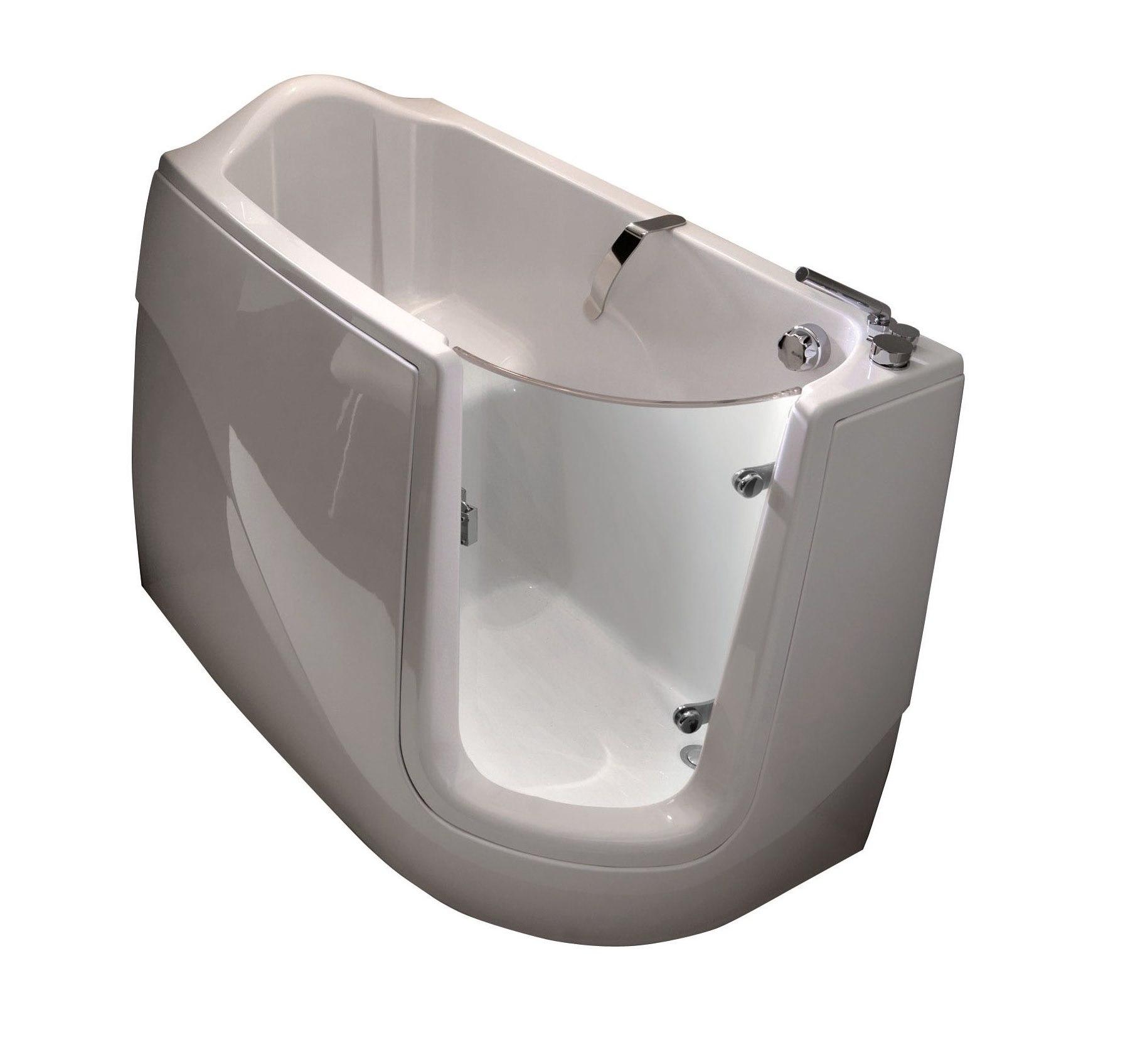 意大利 Gruppo Treesse Gen X 纖維按摩浴缸連8個按摩噴嘴 1300mmx750mm
