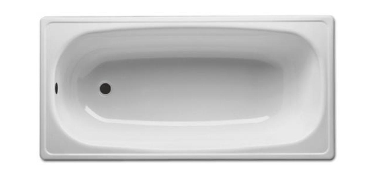 瑞士 Laufen Milano B60E3100L 2.3mm 鋼板浴缸 有防滑 1600x700xmm_白色
