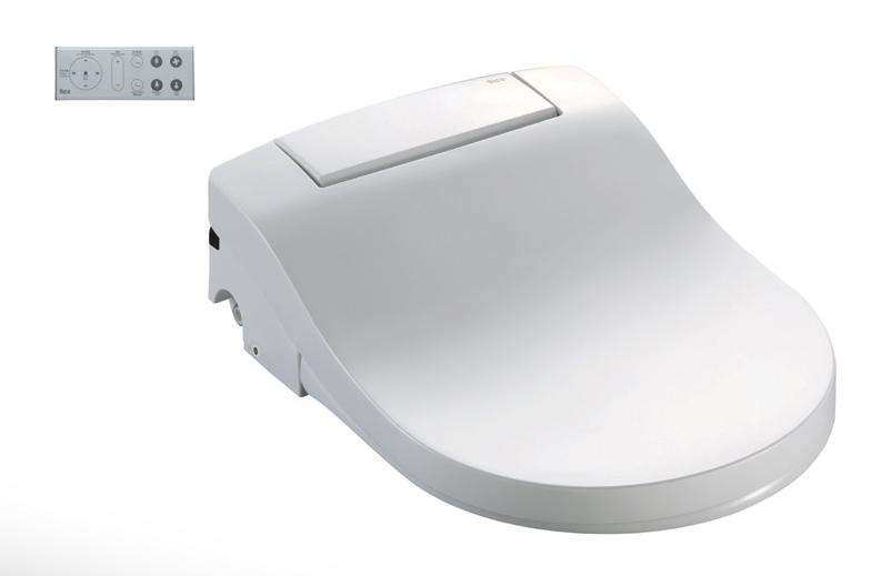 西班牙 ROCA Multiclean Premium 804006005 圓形電子廁板 豪華型 483x358x155mm 白色