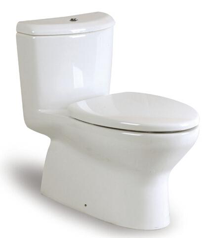 西班牙 ROCA Georgia-1 整體式自由咀座廁配油壓廁板白色