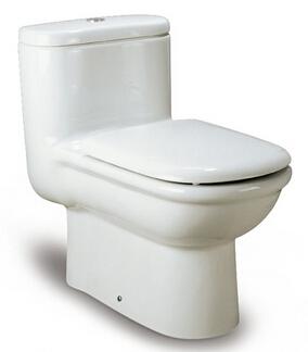 西班牙 ROCA Giralda-1 整體自由咀座廁配油壓廁板白色