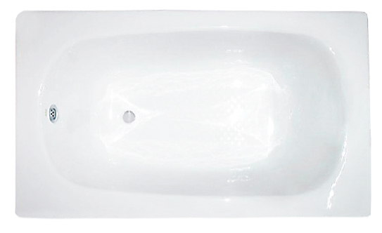 Walrus 302202A 生鐵浴缸 1210x715x400mm 白色
