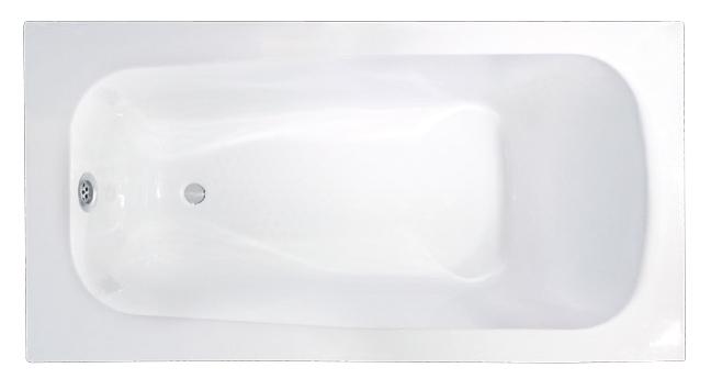Walrus 302403A 生鐵浴缸 1400x700x420mm 白色