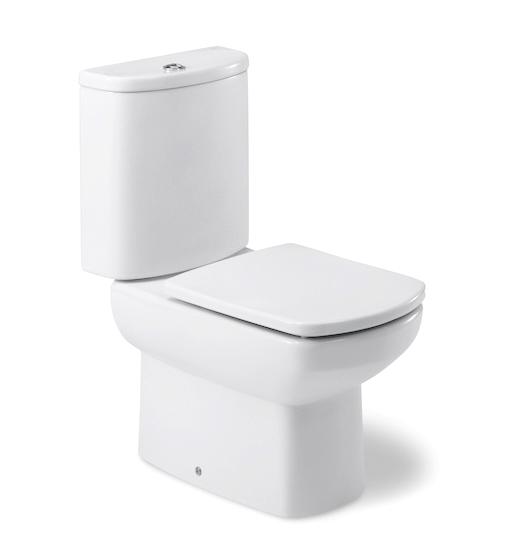 西班牙 ROCA Dama Senso-2 相連式自由咀座廁 配油壓廁板白色