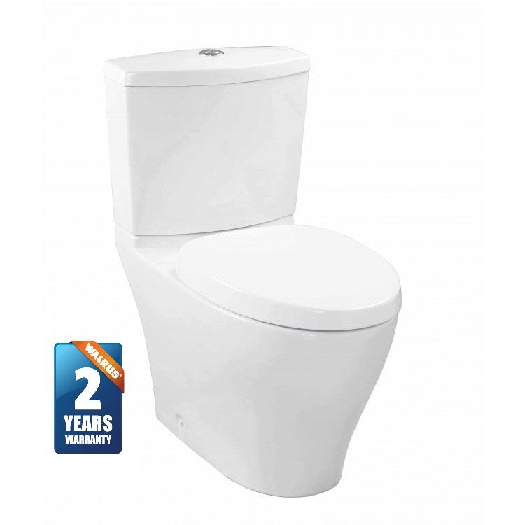 Walrus 120693 相連式自由咀座廁 連緩降廁板