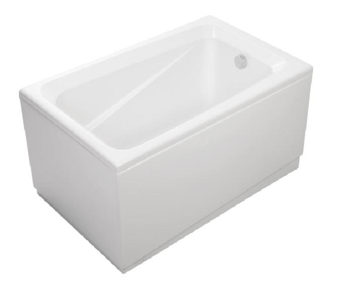 美國 KOHLER Deep Soak K-98157T 纖維浴缸連去水 1210x750x655mm (右角位安裝)