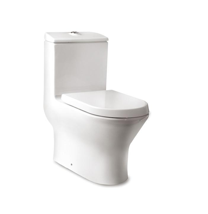 西班牙 ROCA Nexo-1 連體自由咀座廁配油壓廁板白色