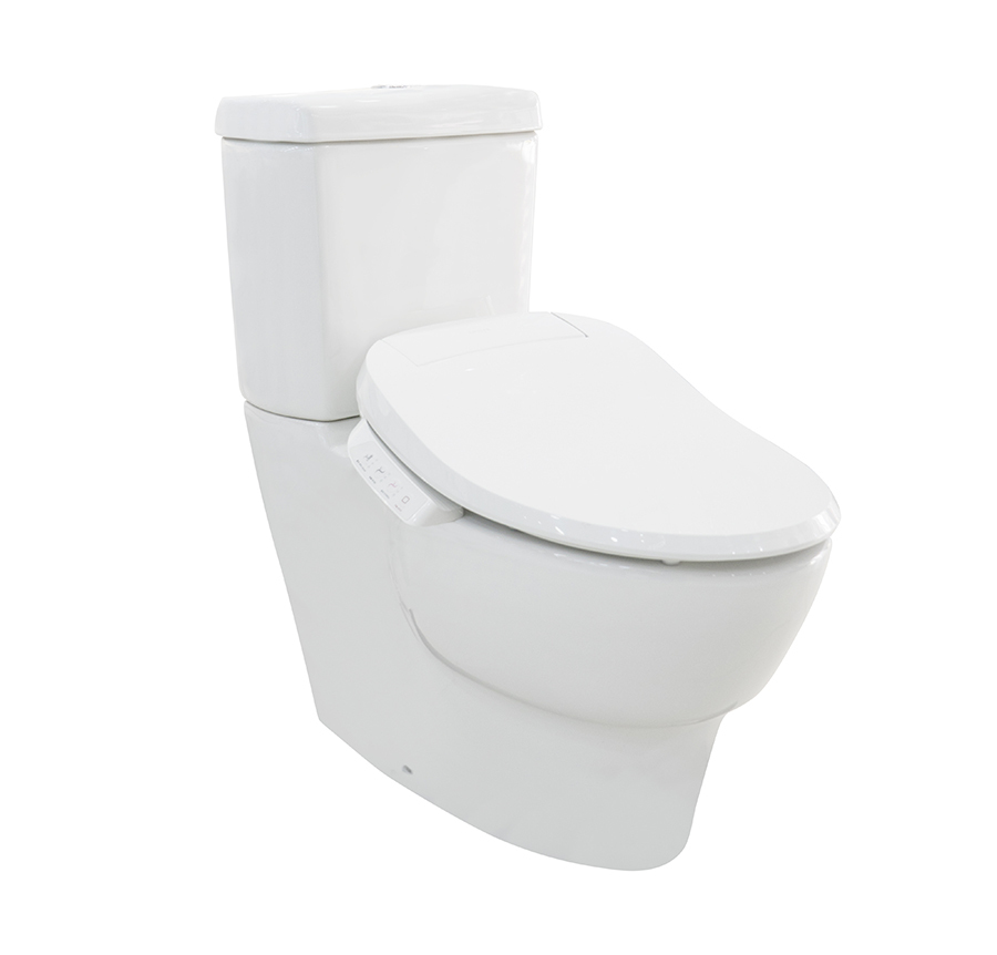 美國 KOHLER Ove 相連式自由咀座廁 配 C3-050 基本型K-18751T 電子廁板 精選組合