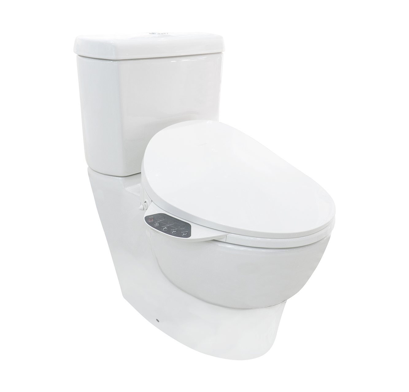 美國 KOHLER Ove 相連式自由咀座廁 配 C3-130 高效型K-4107T 電子廁板 精選組合