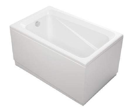 美國 KOHLER Deep Soak K-98156T 纖維浴缸連去水 1210x750x655mm (左角位安裝)