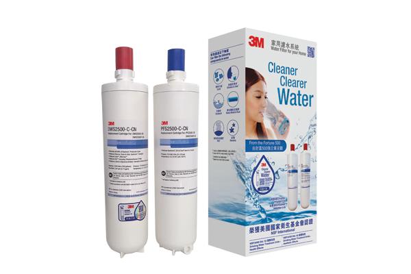 3M DWS2500T 智能淨水系統替換孖濾芯