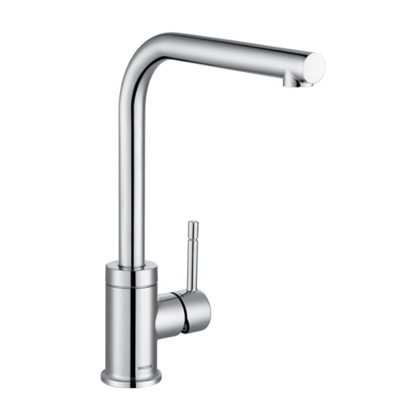 美國 Moen Charmant GN60400 L型出水管 廚房龍頭 (鍍鉻)