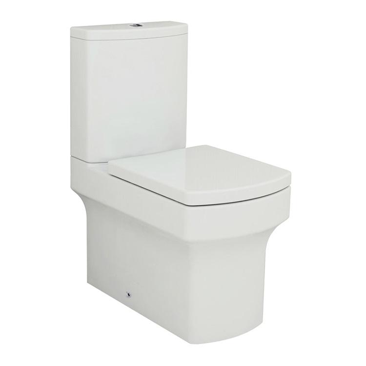 Walrus 120126 相連式自由咀座廁 連緩降廁板 碰牆式