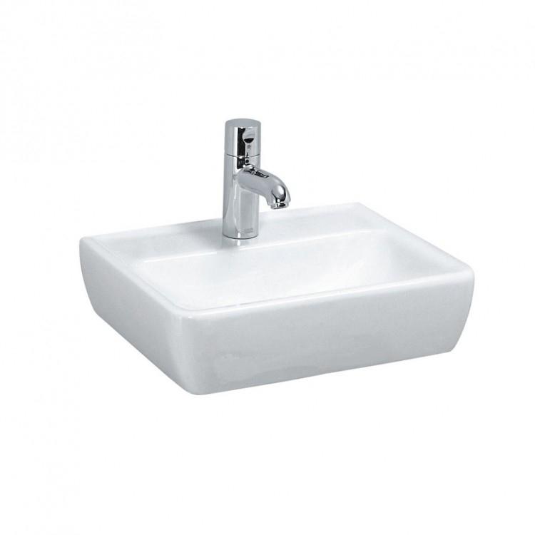 瑞士 Laufen Pro 811951 單孔掛牆/檯上面盆(無滿水) 450x340mm 白色
