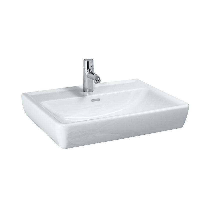 瑞士 Laufen Pro 818951 單孔掛牆面盆(無滿水) 550x480mm 白色