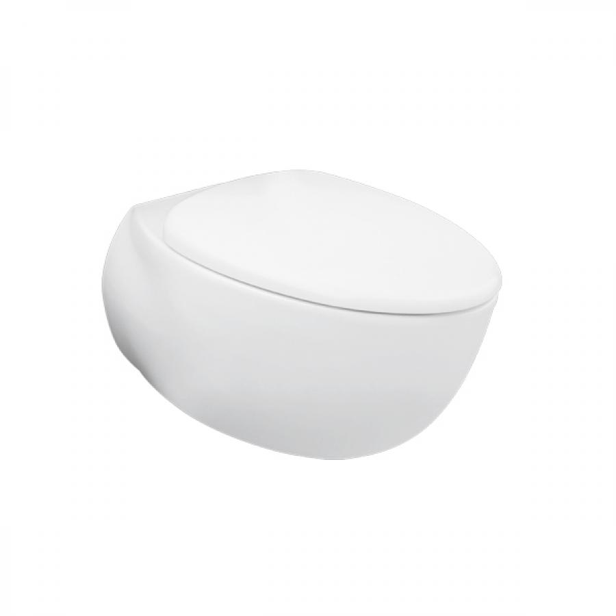 日本 TOTO Le Muse  CW812PJWS 掛牆高咀座廁白色