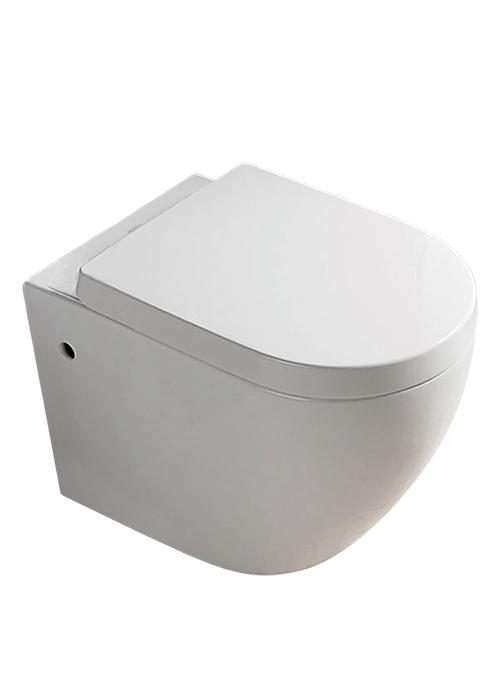 Walrus 130108 掛牆高咀座廁連緩降廁板及掛牆配件