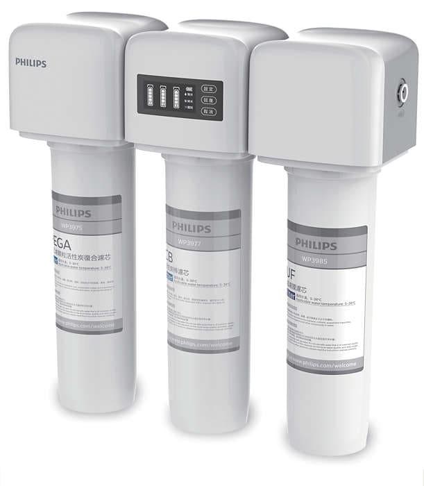 Philips 飛利浦 AquaShield WP4161 家用頂級超濾廚下式濾水器 配原裝飲水龍頭 送安裝(價值$480)