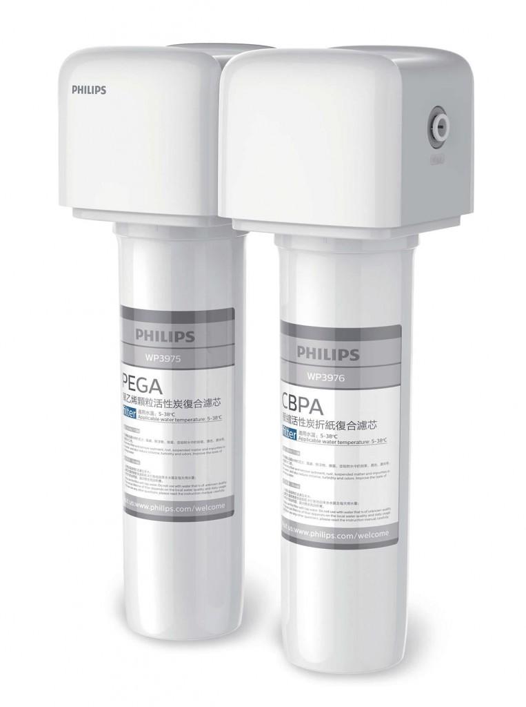 Philips 飛利浦 AquaShield WP4111 家用高效微濾廚下式濾水器 配原裝飲水龍頭 送安裝(價值$480)