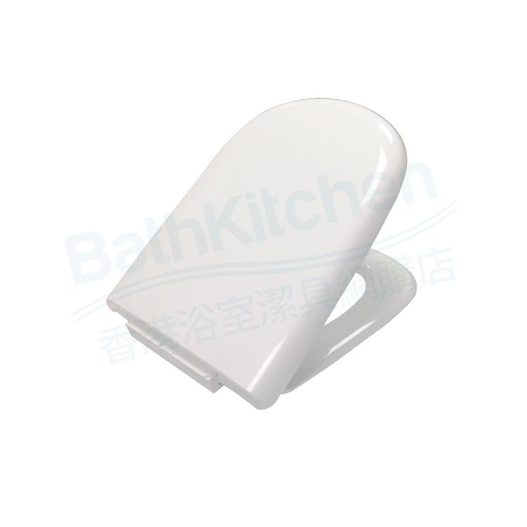 1846-WT U型緩降廁板 (白色) (適用於Giralda 座廁)
