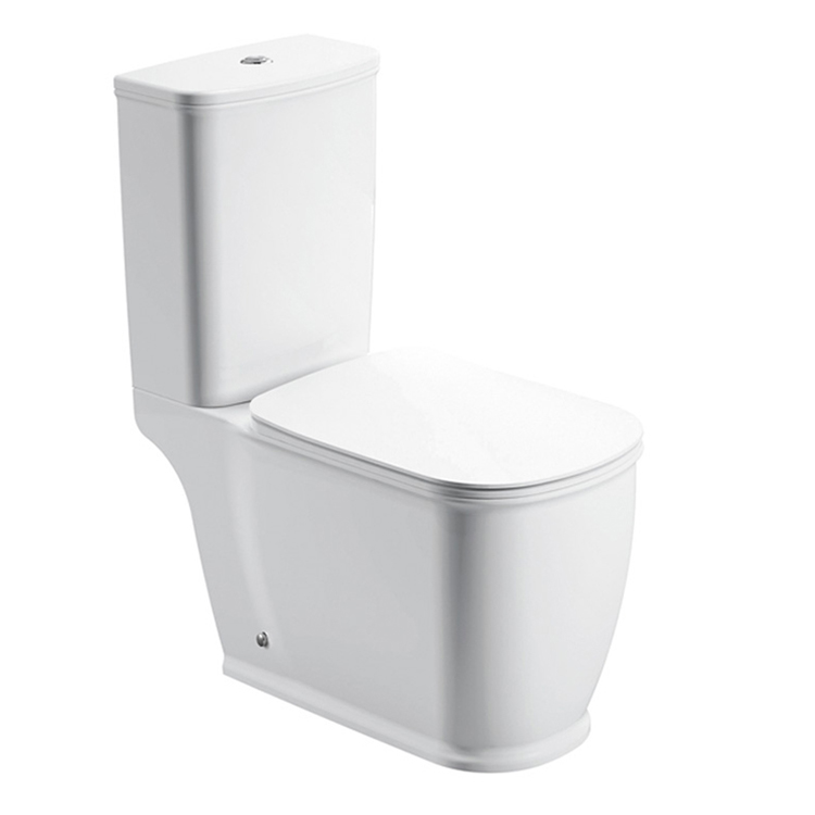 Walrus 120129 相連式自由咀座廁 連緩降廁板