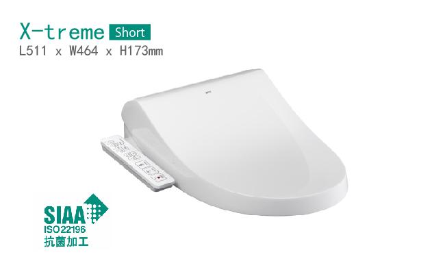 日本 INAX X-treme CEIX7BS1 010510H0 全功能型短板圓型電子廁板