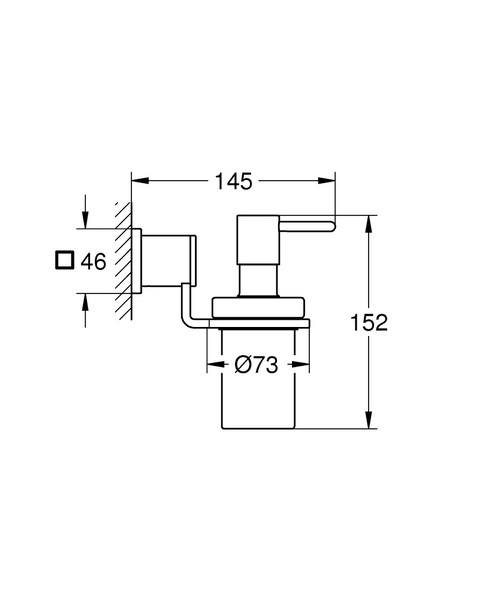 德國 GROHE Allure 40363 手動皂液器